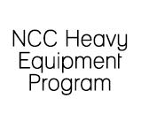NCC Heavy Equipment Program
