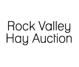 Rock Valley Hay Auction